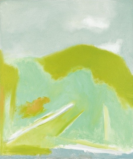 Spring I,  1996 Oil on canvas 50 x 42 inches