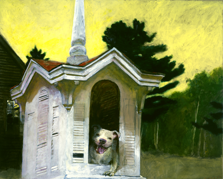 That Dog's House,  2008 CM on toned paperboard 32 x 40 inches