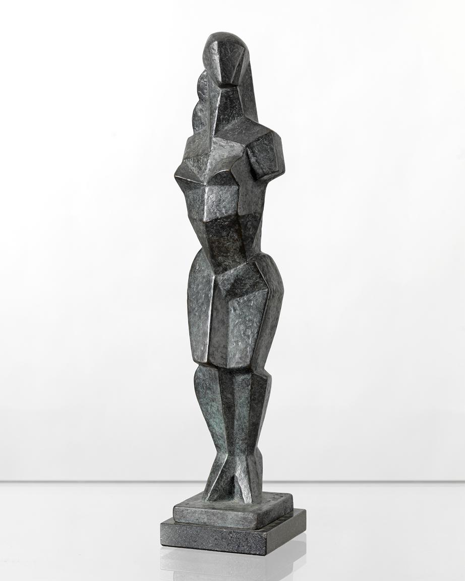 Mediterranean (Black), ed. 2/8,  1992 Patinated bronze 16 x 3.5 x 3.5 inches