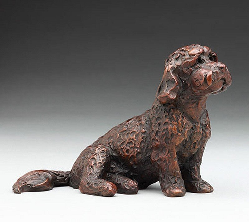 Baxter, ed. 2/99  Bronze 4 x 4 1/2 x 3 1/2 inches