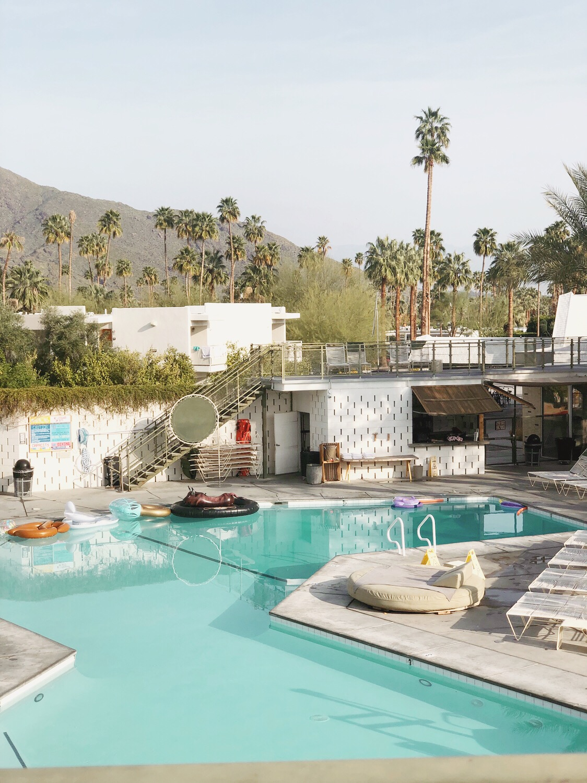 Ace Hotel Pool Area