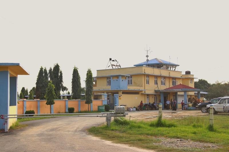 Janakpur airport. Photo Credit: Bikram Rauniyar