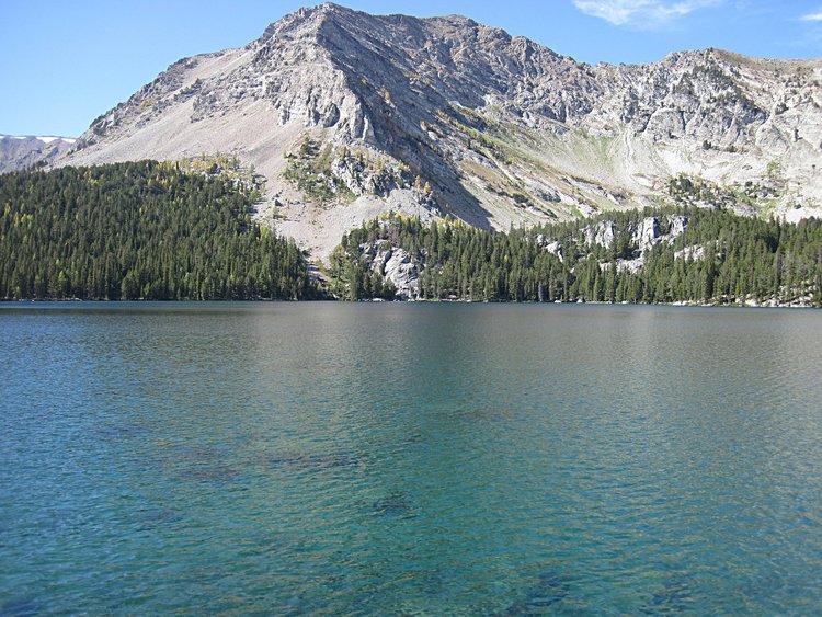 Upper Seymore Lake, Pintlers.