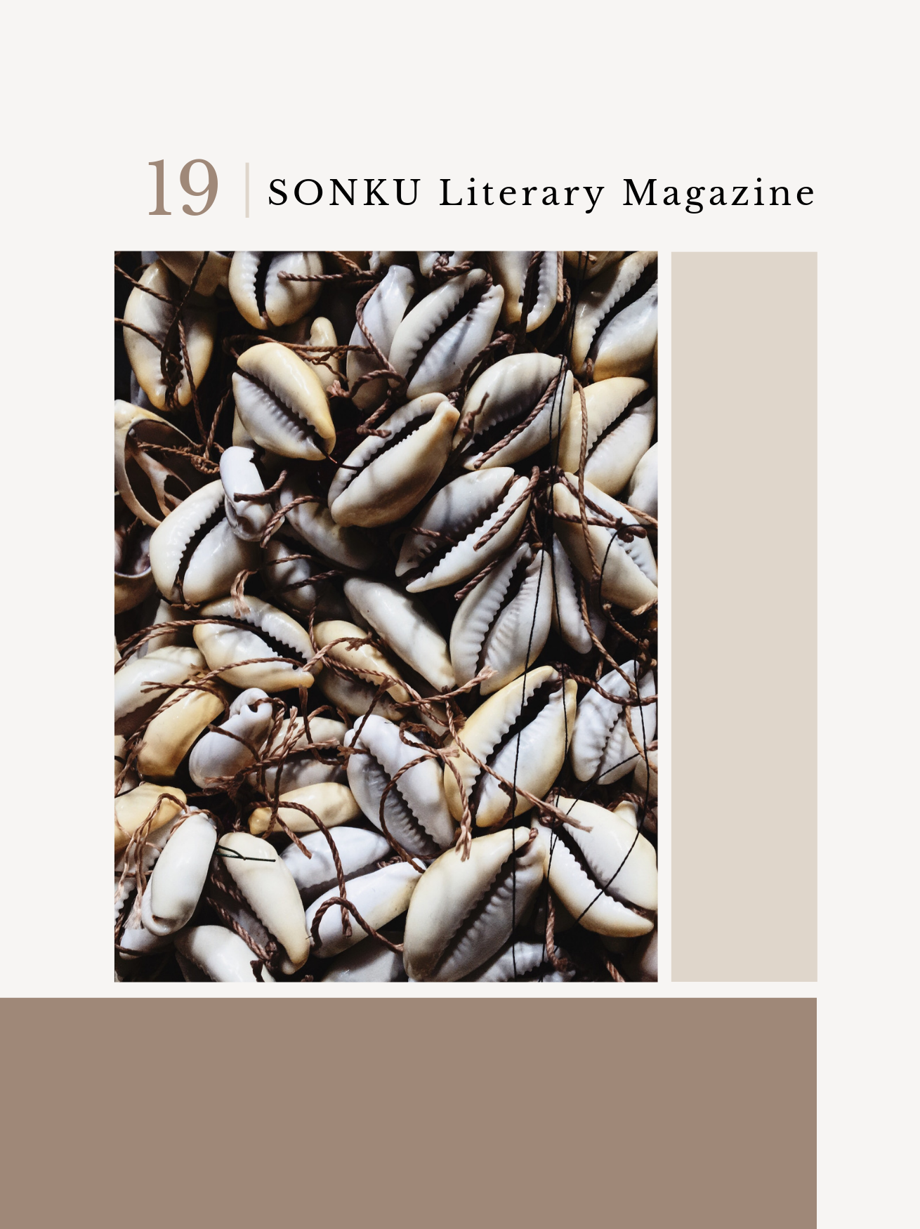 volume I. - Click here to view volume I. of our literary magazine, which features work from over 50 artists of color.