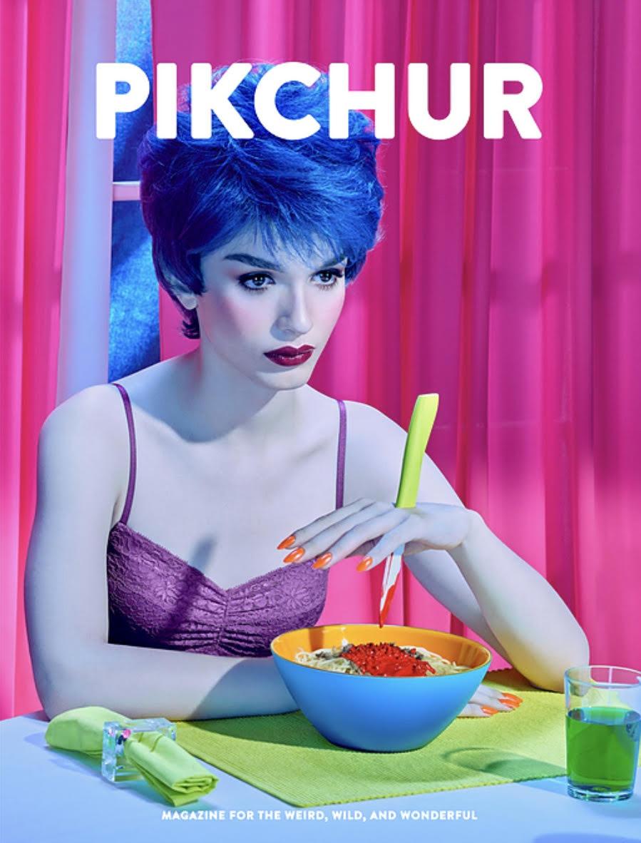 Pikchur Magazine Issue 4. Cover by Pol Kurucz