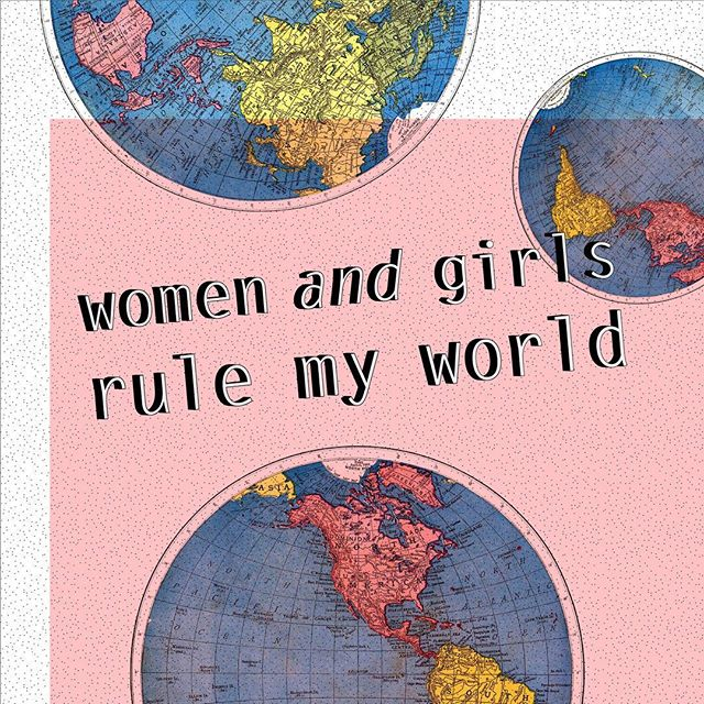 What Prince actually meant to say!! In honor of the Women's March 💃🏼⚡️🌎 • • • • #yougogirl #femalesarestrongashell #womensmarch #women #girls #womensmarchnyc #prince #pattern #digitaldoodle #world #feminist #feminism #design #art #graphicdesign #illustrator #vintagemap #collage #map #globe #pink #type #superhotsupercool #sketchbook #artjournal #ok #thanksforstoppingby