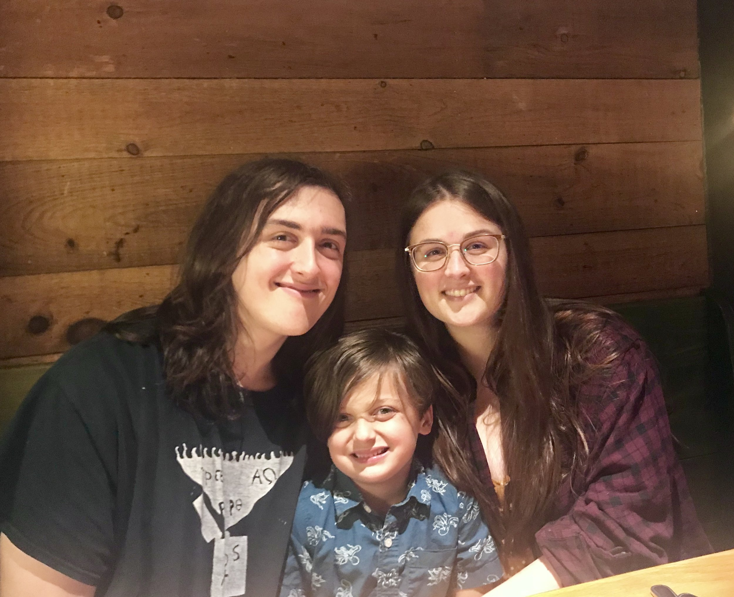 Remy with 2 of his older siblings, William and Samantha