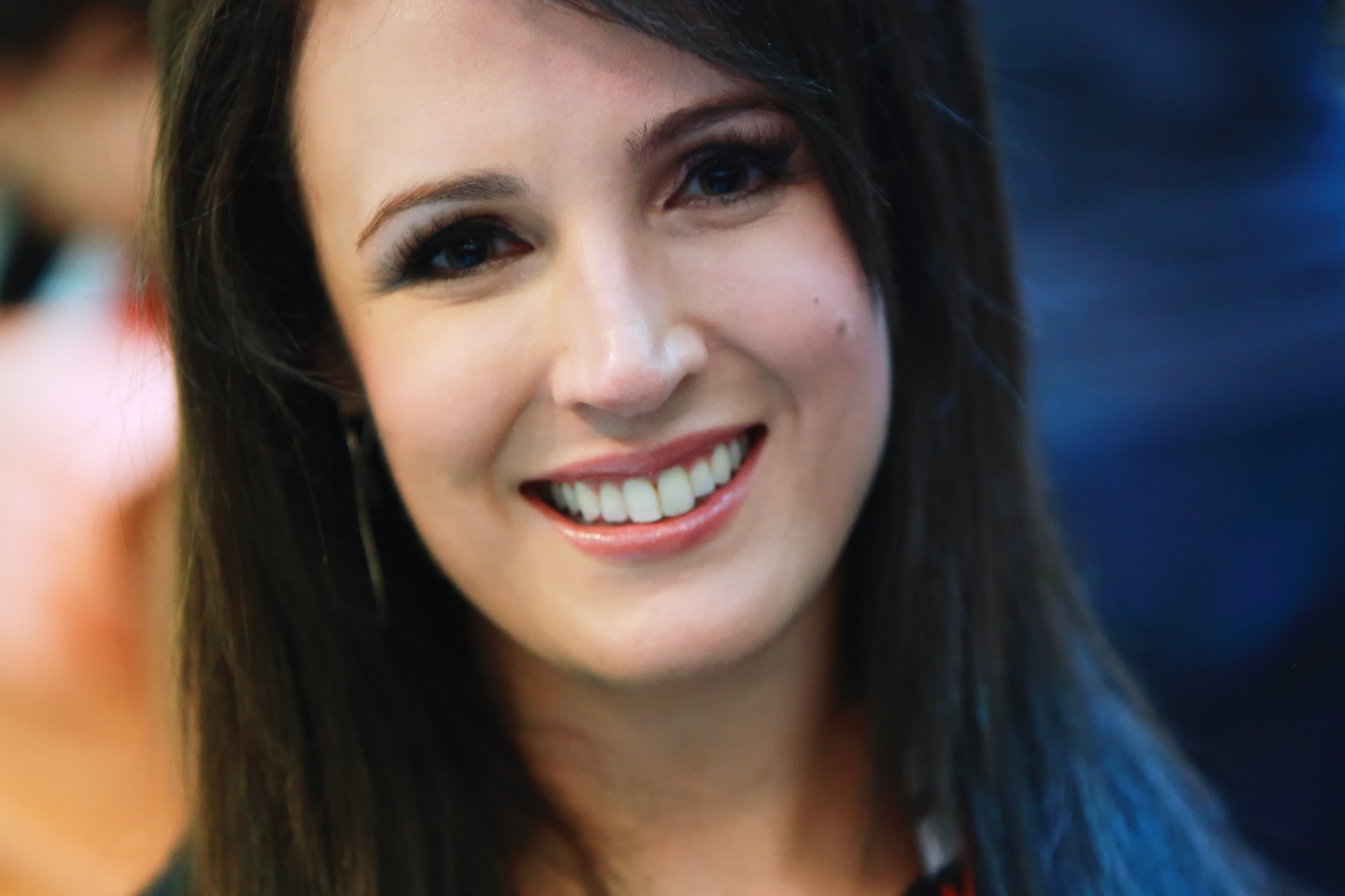 Lucy Zelic - SBS Broadcaster - by: George Suresh