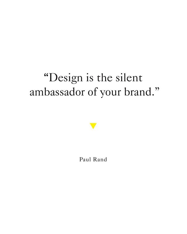 The impression of your brand is important — having quality design & imagery helps create strong brand recognition.