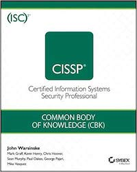 George was honoured to be asked by the (ISC)² to be an author of a complete rewrite of the official (ISC)² CISSP CBK textbook (published May 2019).