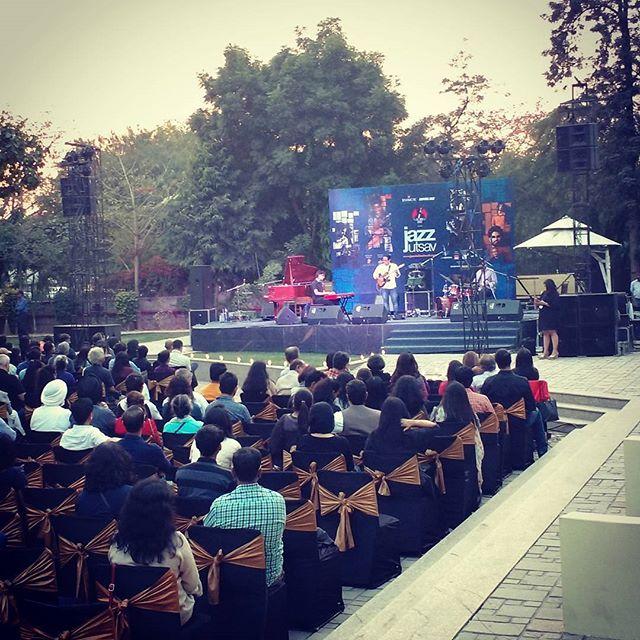 reposting @puro_deeksha Aman Kartikeya Pranai live at Jazz Utsav 2017 #jazzutsav #amankartikeyapranai