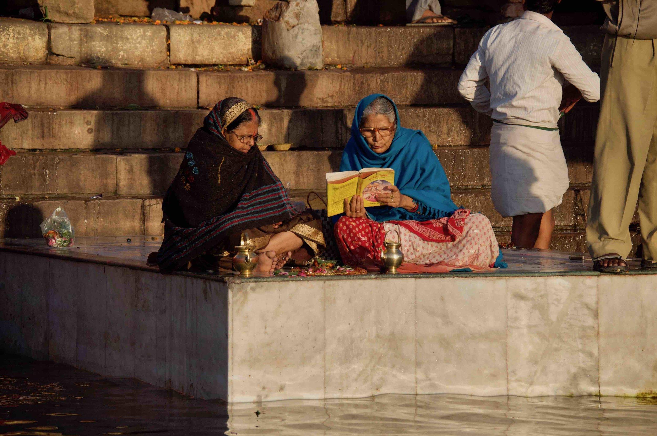 Sanskrit on the Ghats