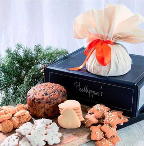A delicious selection of goodies from  Phillippa's Bakery  are available at  Jefferies