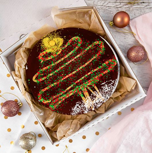 Chocoholics - this one is for you! We've got an amazing selection of chocolate pizzas from  Choc Provedore  &  The Accidental Vegan