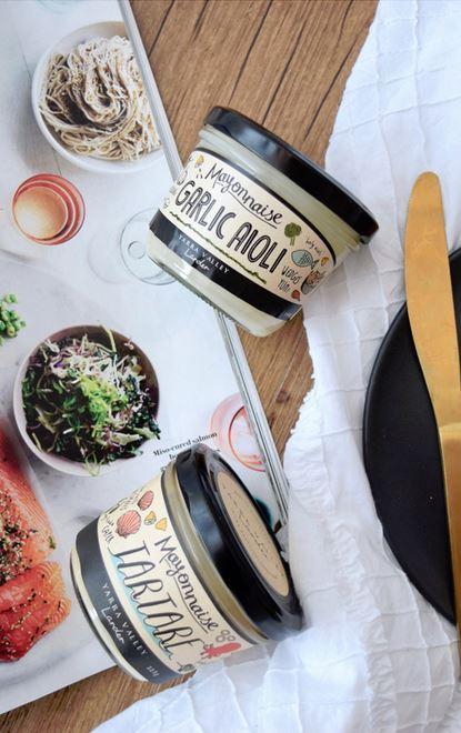 Jefferies Yarra Valley Gourmet Foods Tartare Sauce & Garlic Aioli.JPG