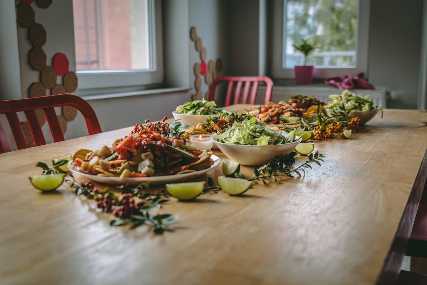 Photo by  Jay Ngai , food prep by  Lisa Forbes