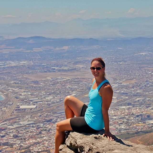 """Sittin' on top of the world. ⛰⛰ •• The hike up Table Mountain in Cape Town took us all by surprise. Of course, we also chose the hottest possible day to clamber up to the more than 1,000 meter high summit. What the interwebz promised to be an """"easy, 2-hour route"""" turned into a grueling 4.5 hours of agony. 😩😩 •• Sure, I'm not the fittest person on the planet - but I'm by far not unfit, either. But this hike almost broke me. I seriously couldn't even anymore. 🙈🙉🙊 •• Not enough water, no food (since we thought it would only take 2 hours and we'd be up there in time for an easy second breakfast) and all in all maybe five slivers of shade along the entire climb. Uff! 😓😓 •• But you know what? The ordeal made reaching the top, looking down at the city and realizing how far we'd come all the more sweet. 😃🤸♀️🎉🧗♂️🍾 #madeit #worthit #topoftheworld #onceinalifetimeexperience •• Also... #neveragain. 😆😆 • • • • • #hikelikeagirl #wifitribe #breathin #breathing #breathofthewild #gratefulforllife #gratefullife #gratefulsoul #gratefulfortoday #gratefulfor #nomadsoul #digitalnomads #digitalnomadgirls #digitalnomadlife #digitalnomadlifestyle #digitalnomadfamily #digitalnomade #digitalnomadspirit #girlslovetotravel #globalwanderer #fulltimetravel #fulltimetraveller #tourtheplanet #letsgoeverywhere #passionpassports Photo by @travelingbrian"""