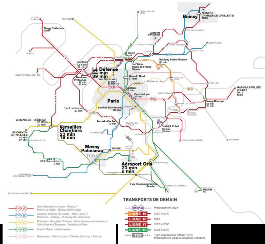 Accès Transports Communs Massy