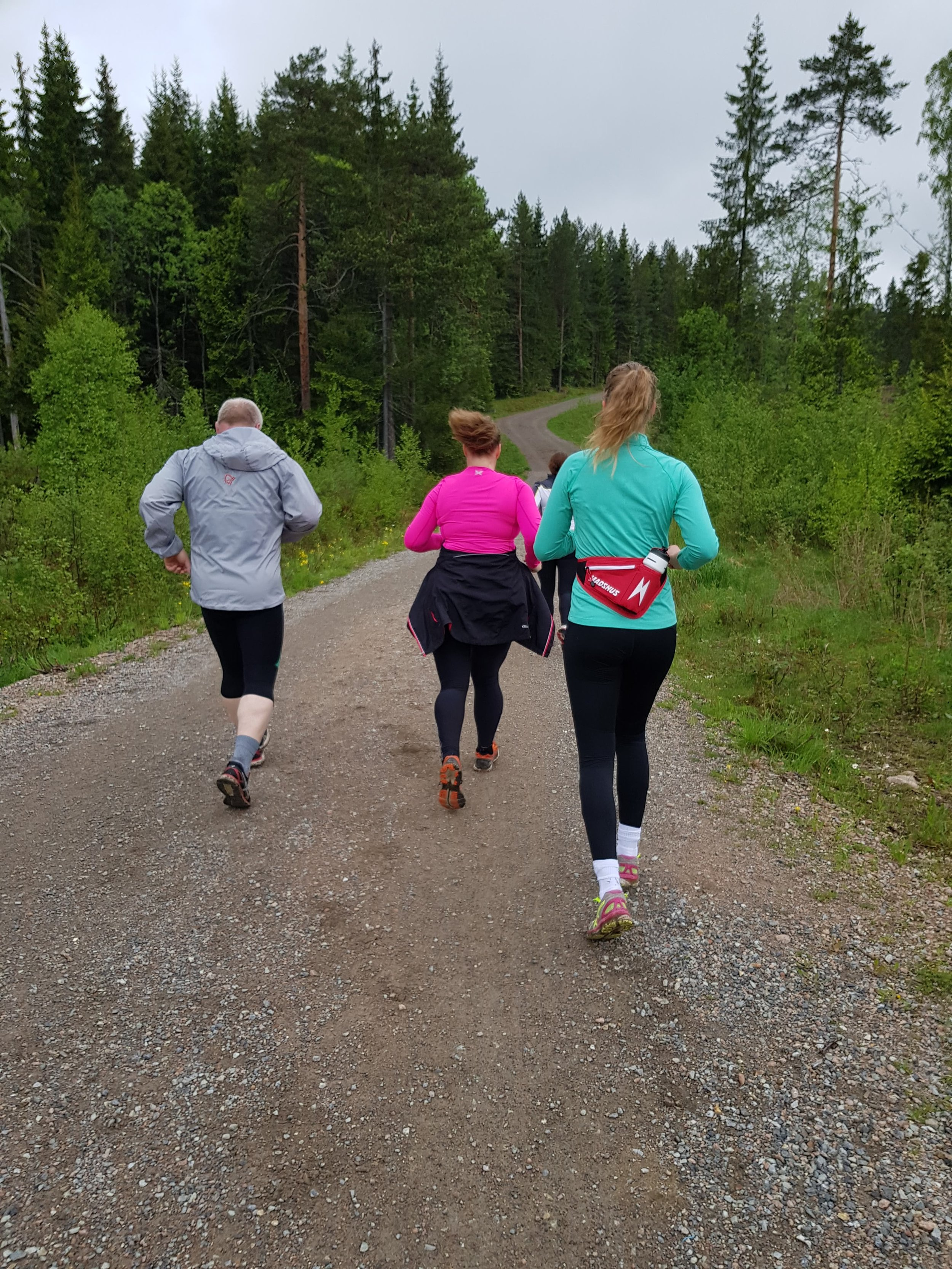 Løpetrening med Ingvild