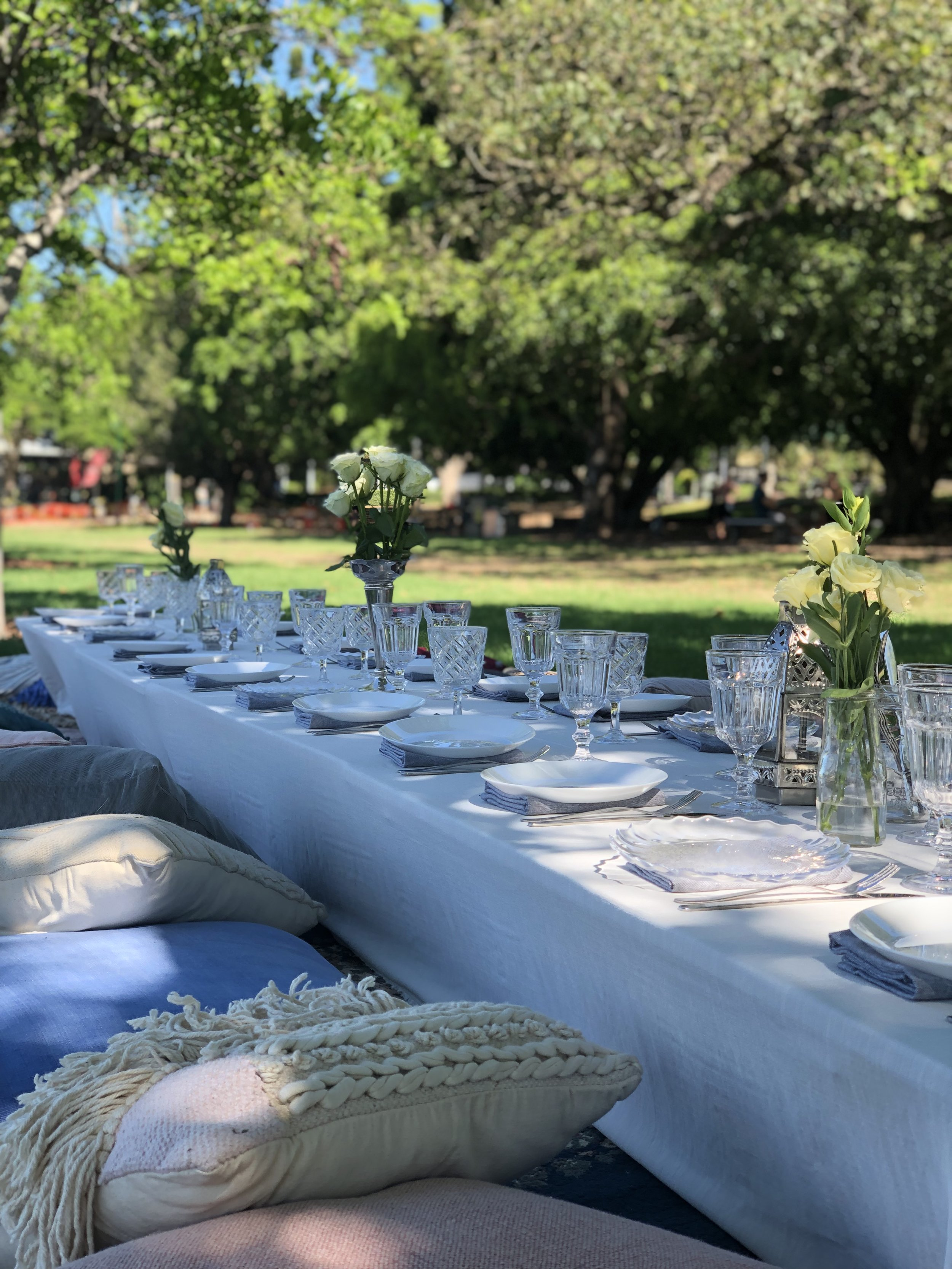Picnic events - Parties - Birthdays - Proposals