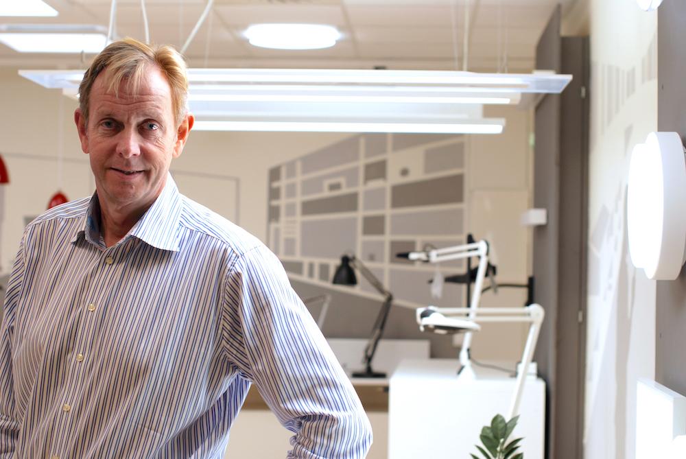 Omstilling og innovasjon er avgjørende for konkurransekraften vår, sier Knut S. Rusten, konserndirektør i Glamox. (Foto: Marit Letnes).