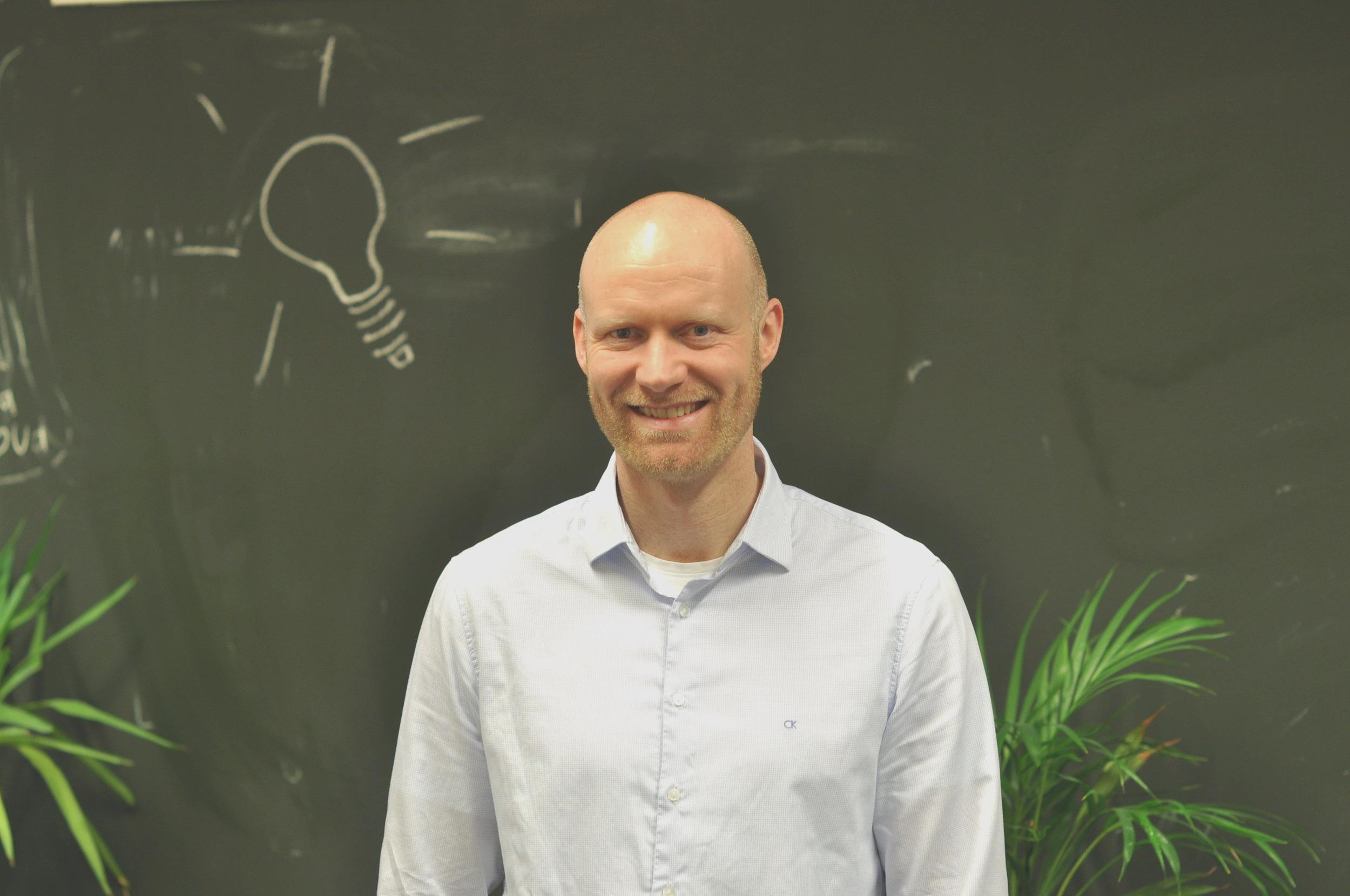 Vebjørn Heggdal, daglig leder i Axbit. (Foto: iKuben)