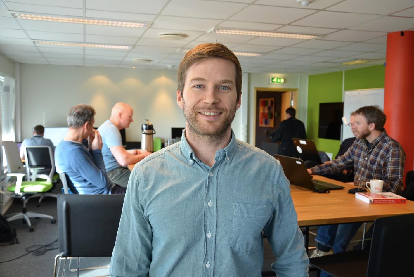 Vegard Flovik (ph.d) ledet kurset i maskinlæring.