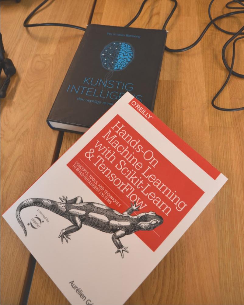 Fysiske bøker er fremdeles nyttig når man skal lære maskiner å lære.