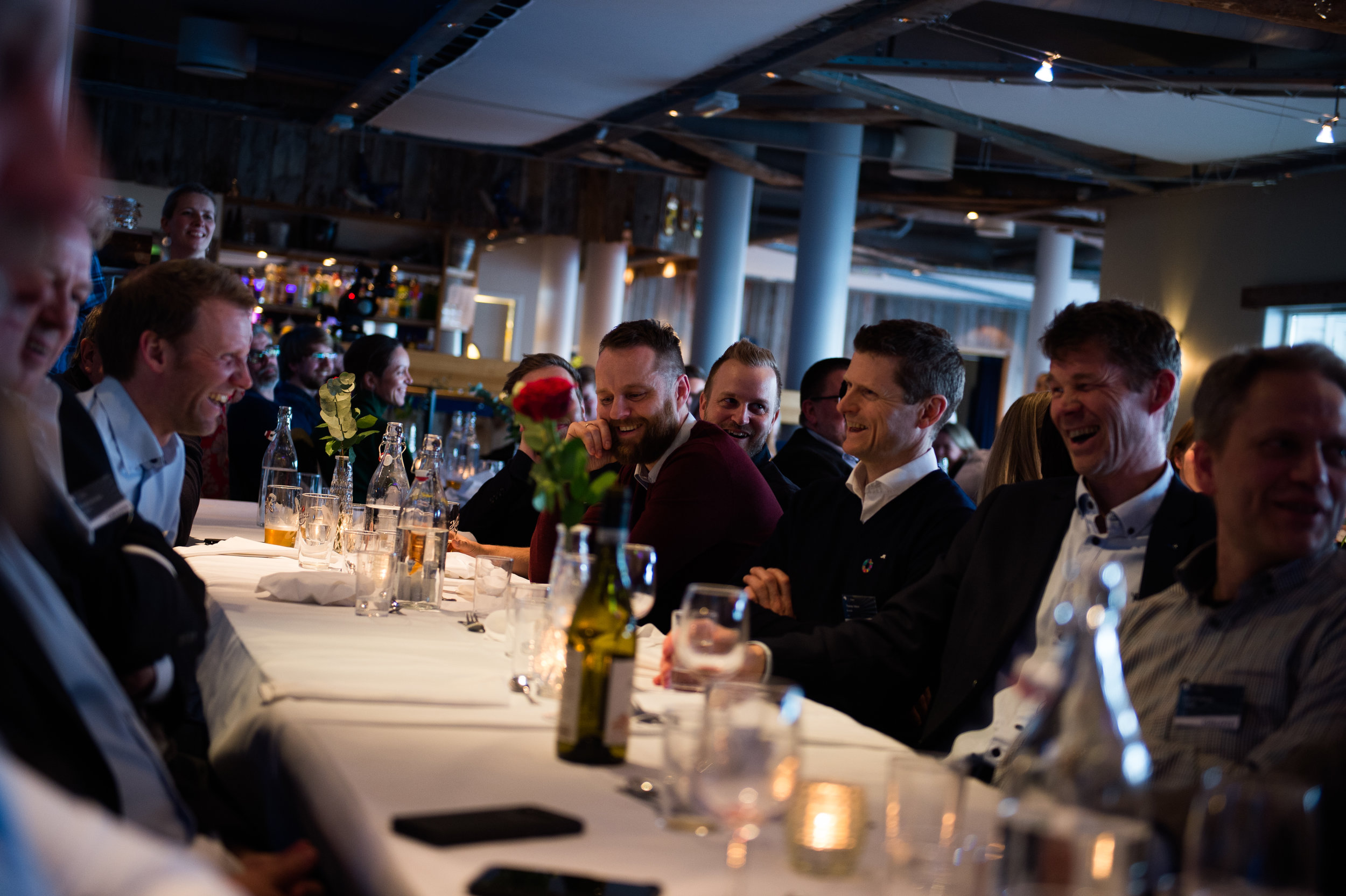 God stemning på NCE iKubens Vårslepp 2019. (Foto: Per Sveinung Larsen)