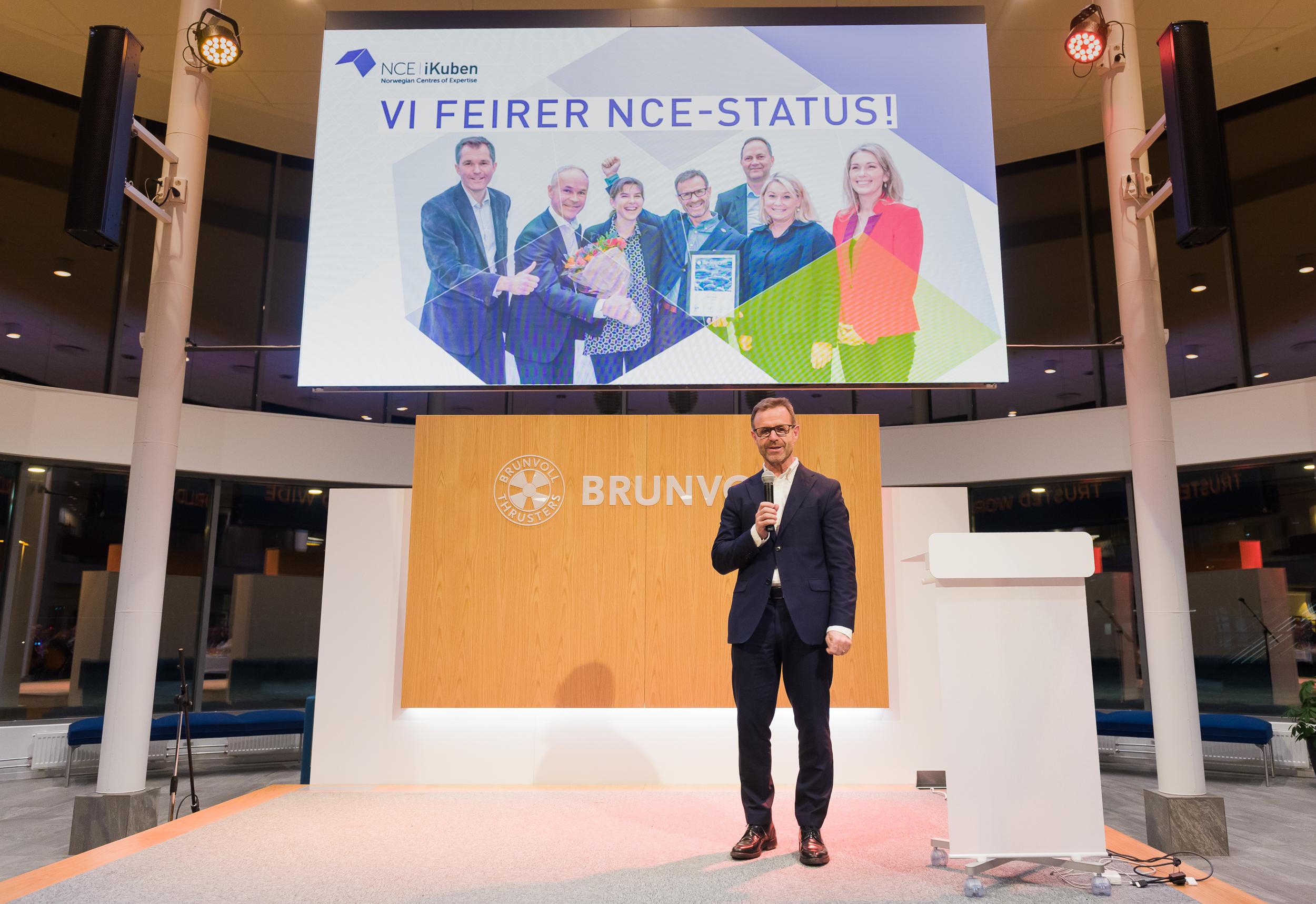 Styreleder Odd Tore Finnøy presenterte i 2017 en stor milepæl: Status som Norwegian Centre of Expertise i 2017.
