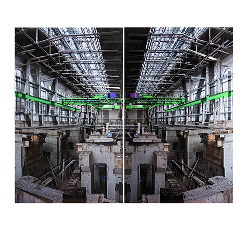 Interior Power Station - green