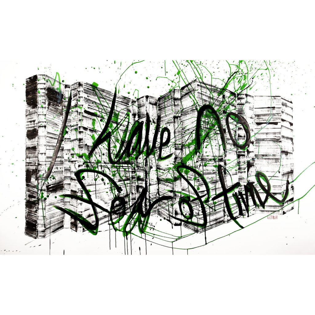 Urban Graffiti (Fear of Time) – green