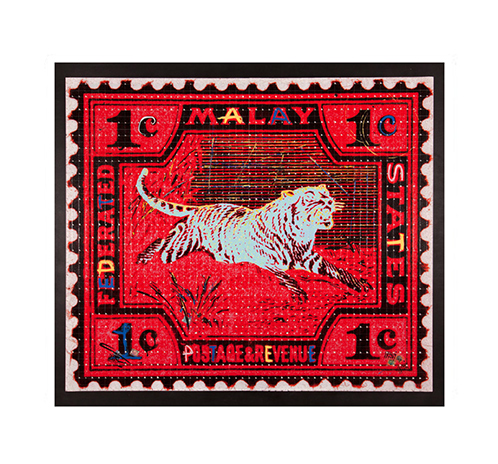 Malay Tiger - red