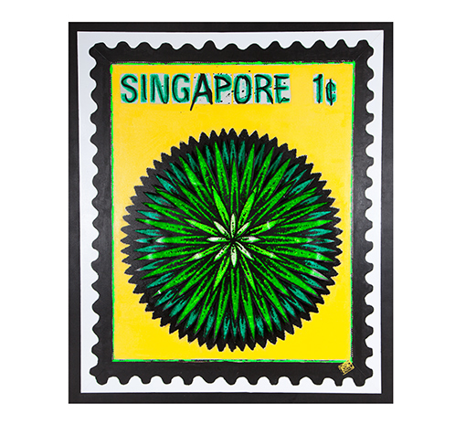 Singapore flower – yellow / green