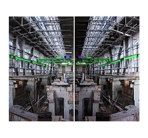 Interior Power Station – green