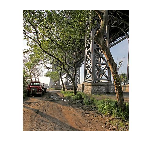 Willamsburg Bridge and Truck – NYC