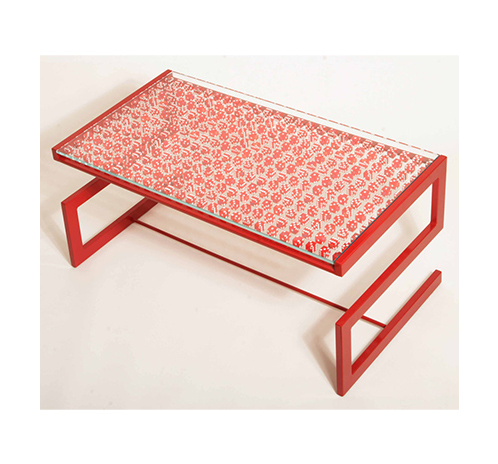 Lucky Dice Table – red