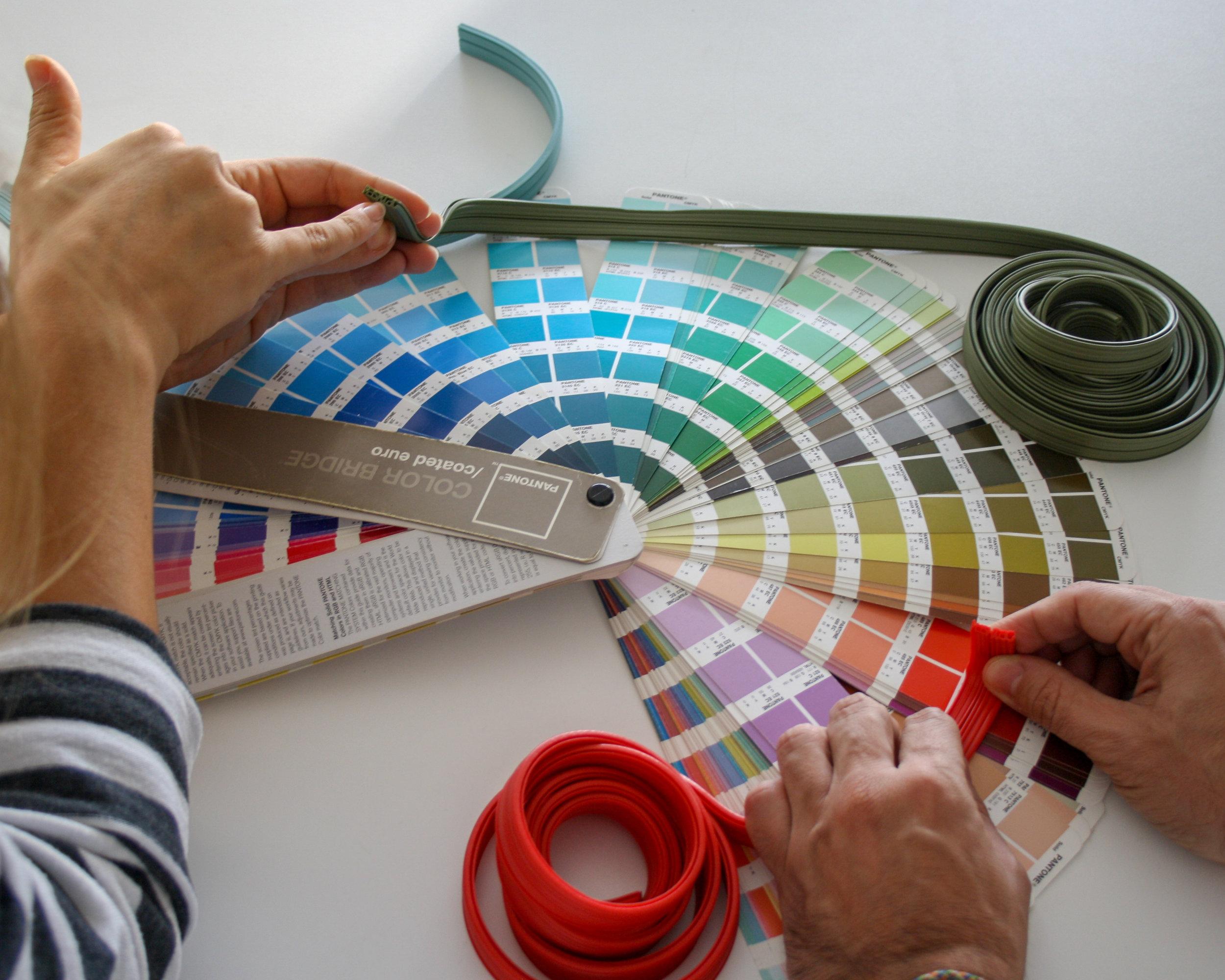 Elección de la gama de colores.