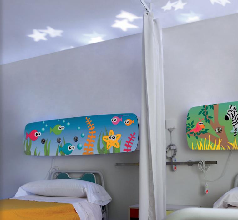 tedisel-medical-maya-cabecero-infantil-hospitalización