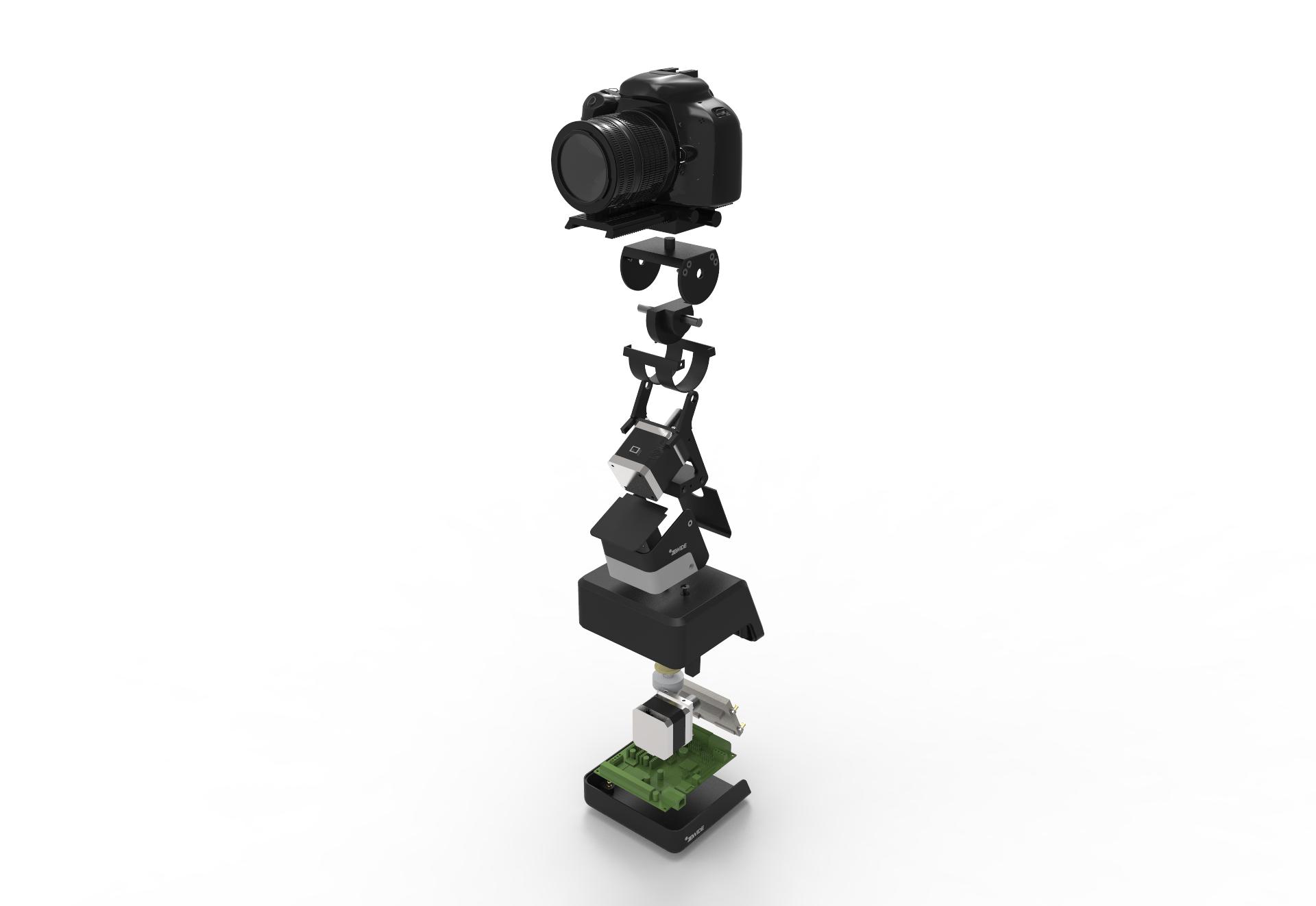 zewide-accesorio-cámara-fotográfica-explosionado