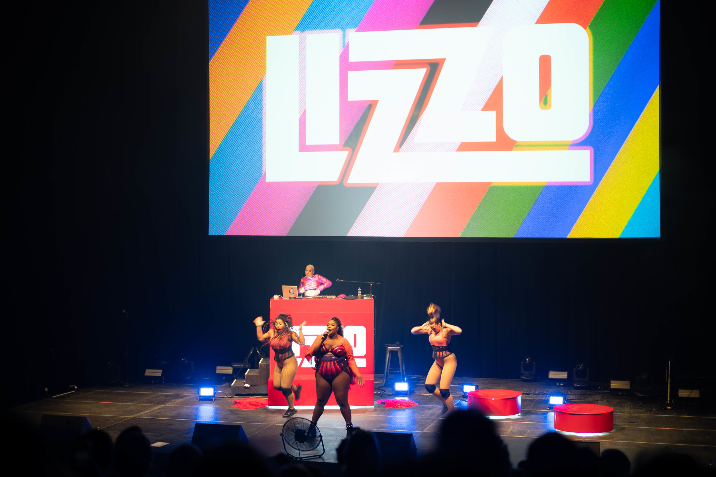 Surprise Act! Lizzo closing out XOXO 2018. Image credit:    Tom Coates   .