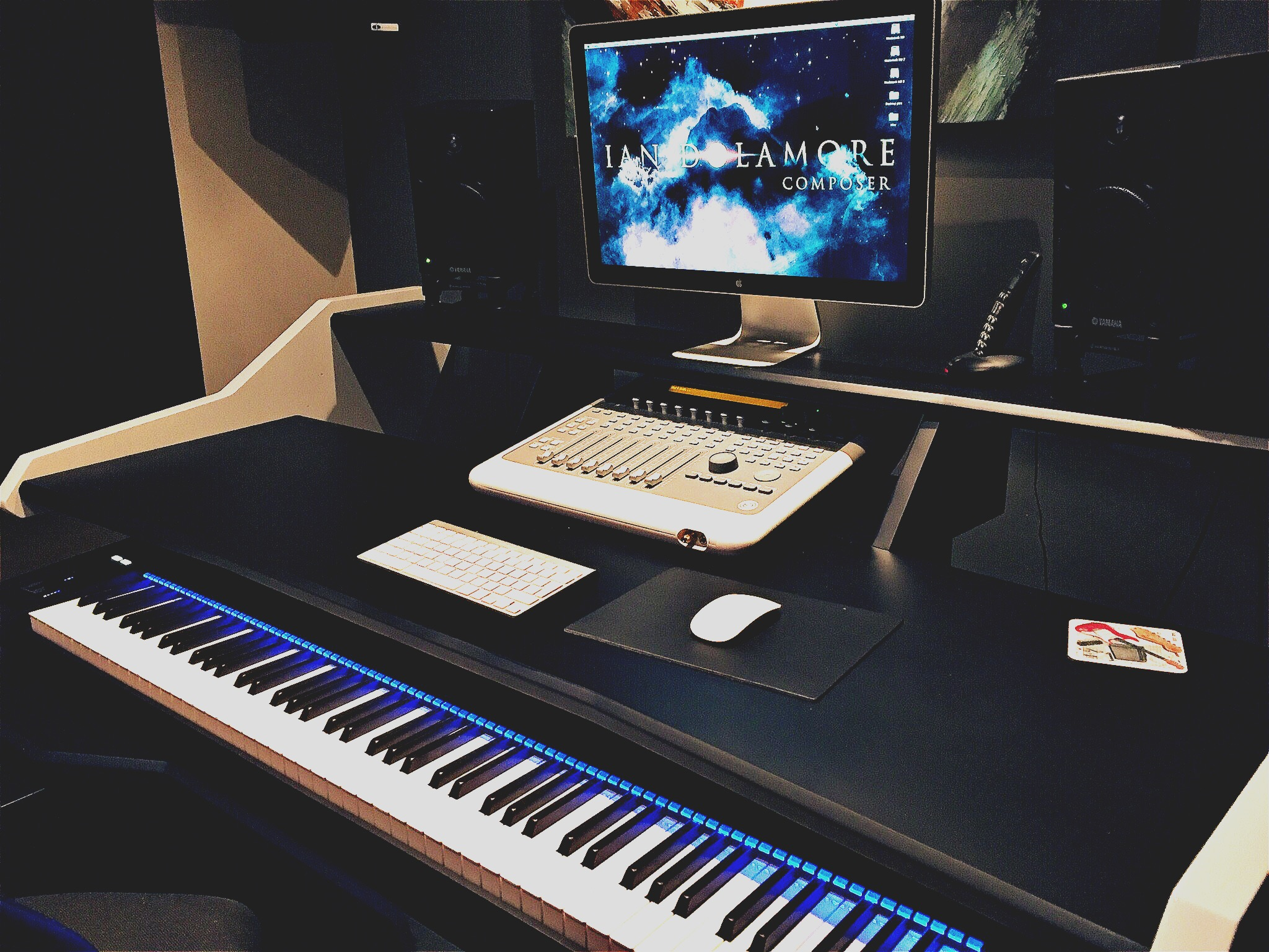 STUDIO - Professionally-equipped studio for composing and teaching. Award-winning media composer and producer.