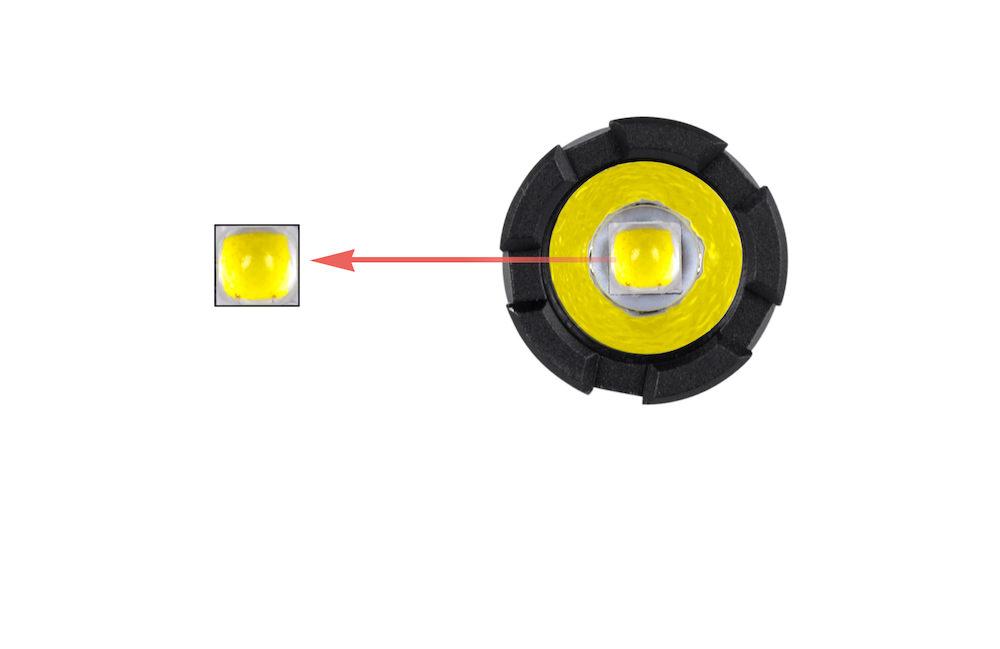 Émetteur CREE XPL HD W2 - 360 lumens au bout d'un stylo grâce à l'utilisation d'une Led CREE XPL HD W2
