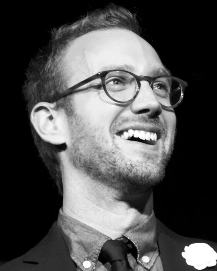 Ryan Austin as The Jersey Devil - Ryan is an improvisor and writer in Austin, TX. He currently performs in the duo Austin/Austin with Quinn Buckner, and has traveled the world performing improvisational theatre.