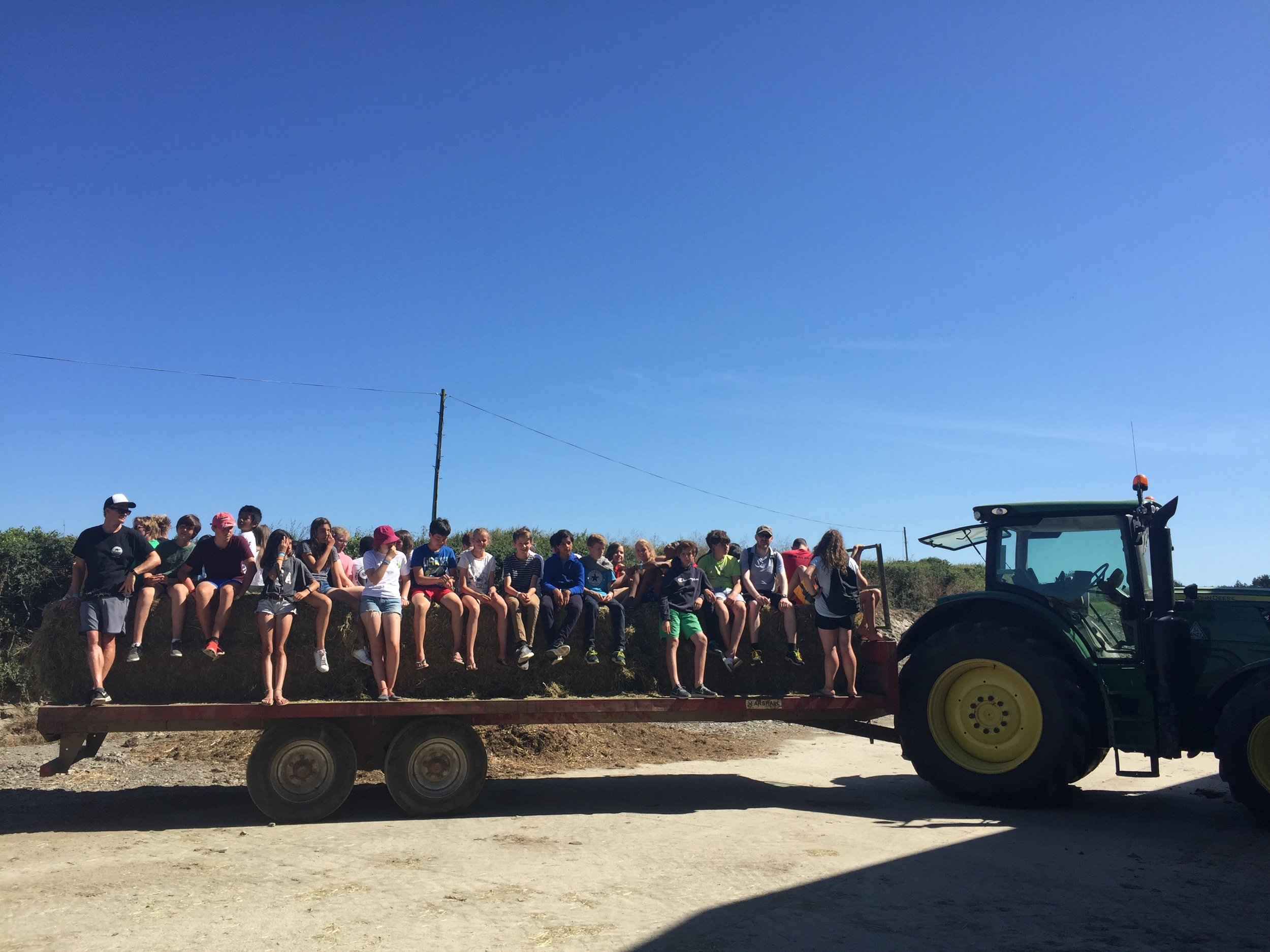 FARM VISIT - Groups will visit a local farm that farms oysters. This is a unique experience that you would not find in many other places! Students will have the chance to try oysters, learn about the purification method and the sustainability of oyster farming.
