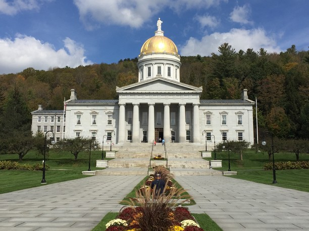 Capital Building in Montpelier, Vermont