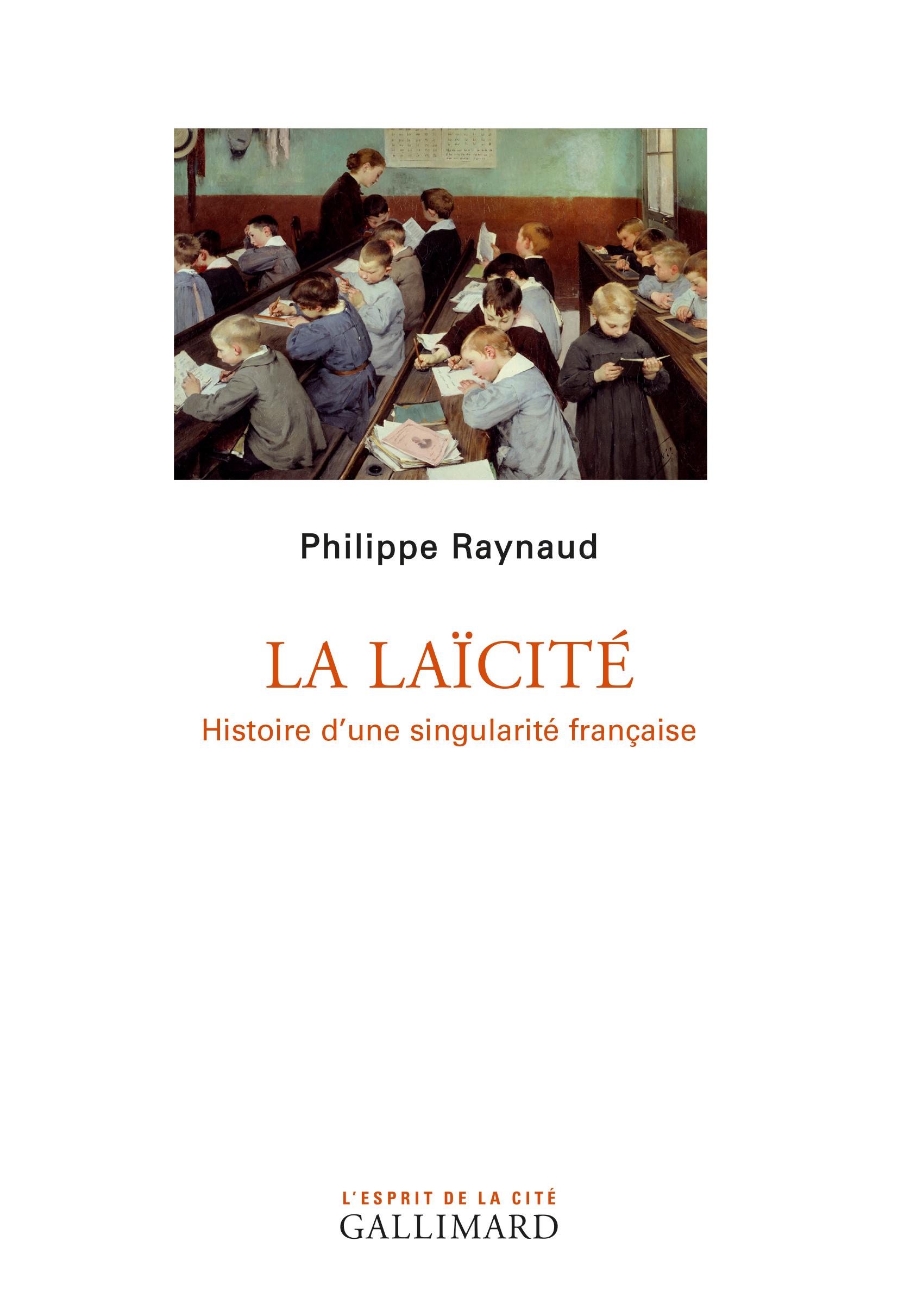 RAYNAUD Philippe La laïcité couv.jpg