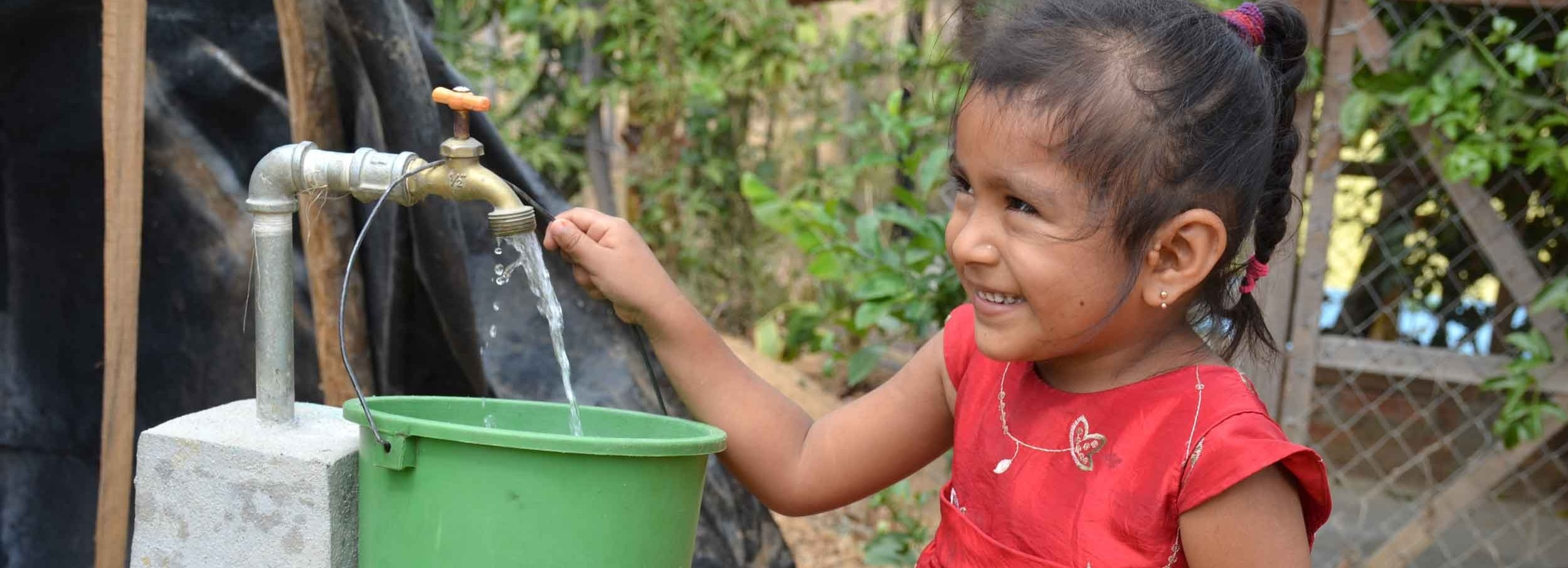 Community-managed water wells