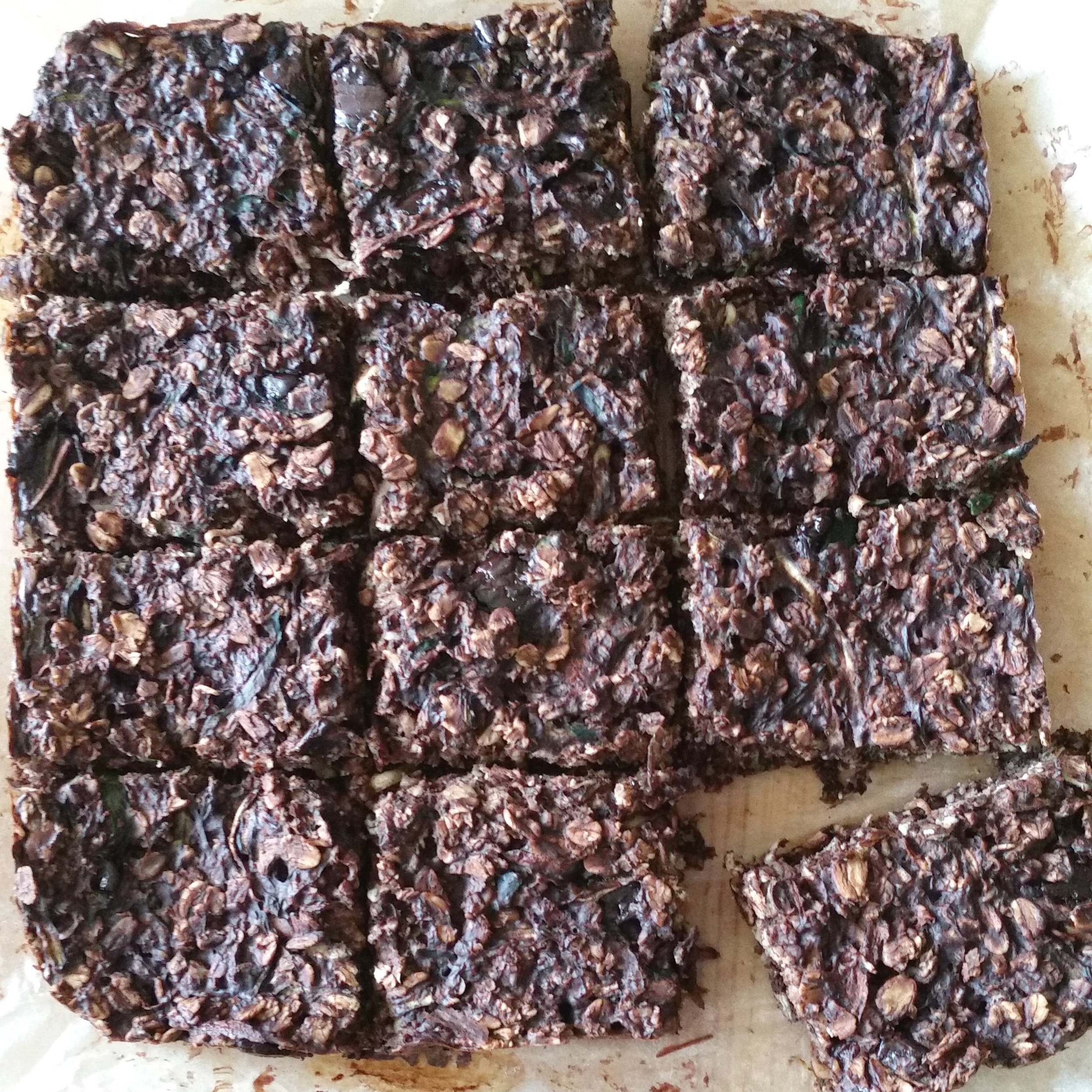- This slice is wheat and refined sugar free and sneaks in some healthy veg. It's a wholesome snack that is perfect for lunch boxes or to have on hand for when friends drop in. The oats, being wholegrains, are full of fiber and leave you feeling fuller for longer. My kids love this slice and I find it to be a handy go-to when I'm hit with the 3pm lull.