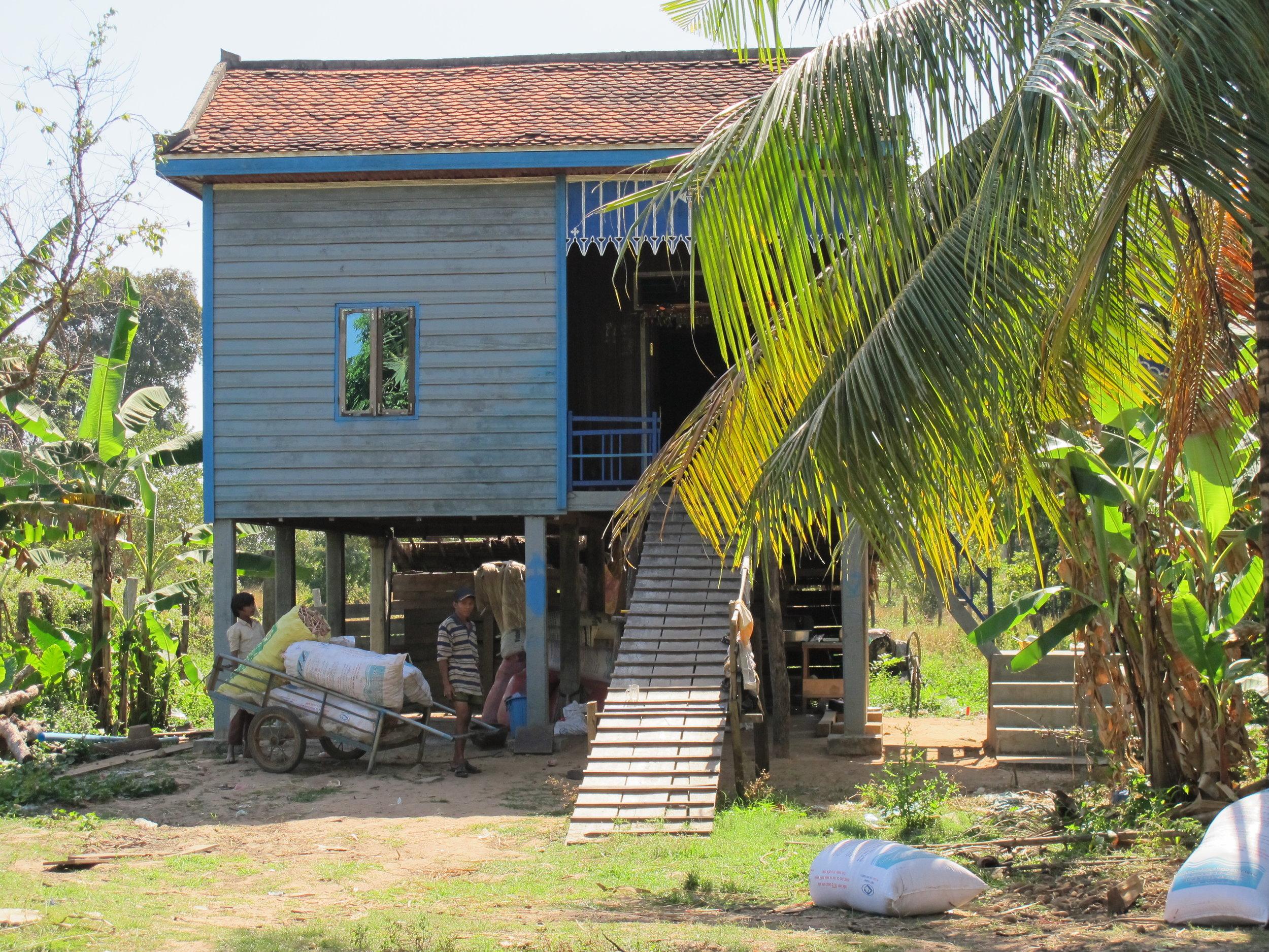 Cambodian Stilt Home